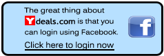 Ydeals.com - Facebook login